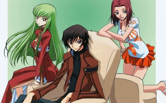 Картинки по аниме Код
